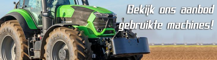 Bekijk ons online aanbod gebruikte en nieuwe tractoren, landbouwmachines, tuin-en park machines en veehouderijmachines.