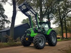 Nieuwe Deutz-Fahr Agrotron 6145.4 rc-Shift afgeleverd