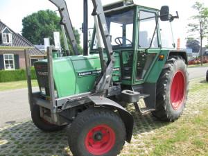 Gebruikte Fendt tractor afgeleverd