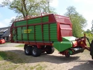 Strautmann opraapwagen afgeleverd