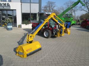 Carraro systeem-tractor afgeleverd aan de Gemeente Aalten