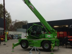 Nieuwe Merlo voor bouwbedrijf Hengeveld
