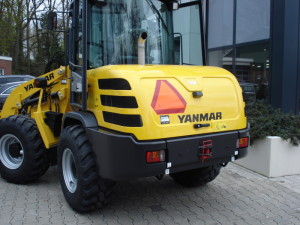 Nieuwe Yanmar shovel afgeleverd